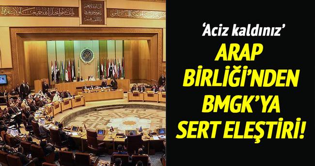 Arap Birliğinden 'BMGK'ya' eleştiri