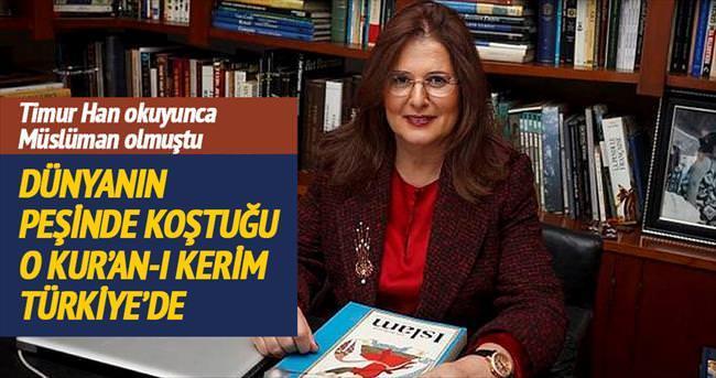 O KUR'AN-I KERİM TÜRKİYE'DE...