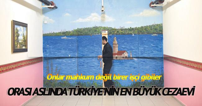 SİLİVRİ CEZAEVİ FABRİKA GİBİ...