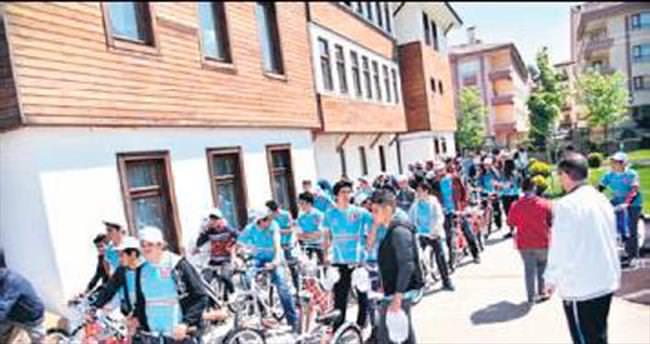 Obeziteye karşı bisikletli mücadele