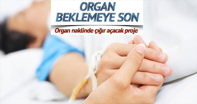 Organ beklemeye son verecek proje