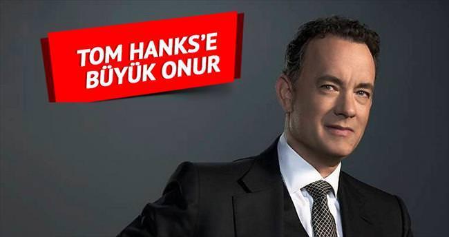 Tom Hanks 'Şeref Nişanı' sahibi oldu