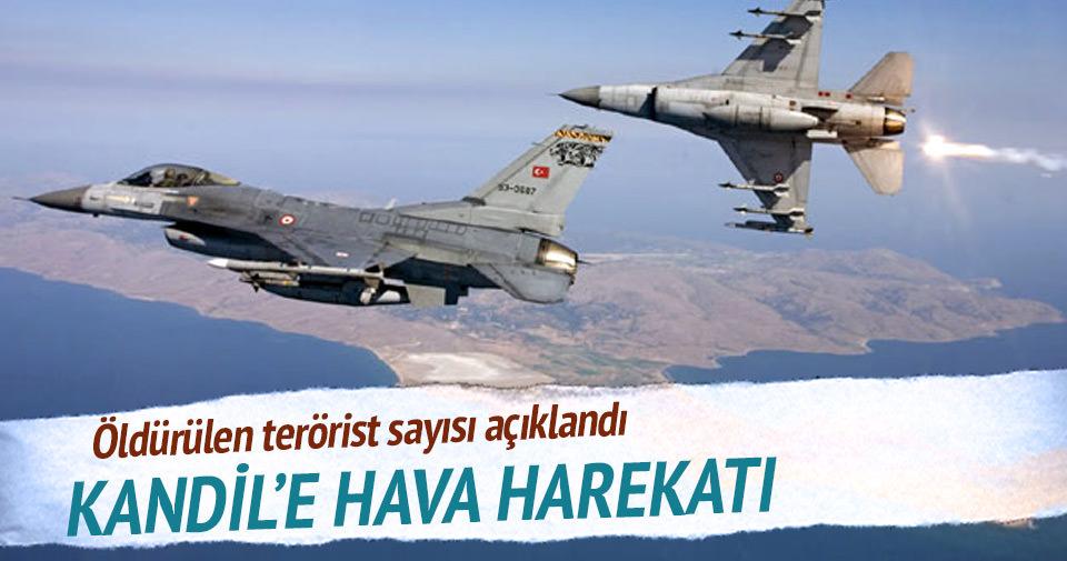 Kandil'e hava harekatı! 30 terörist öldürüldü