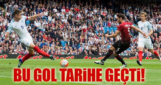 Hakan Çalhanoğlu'nun golü tarihe geçti