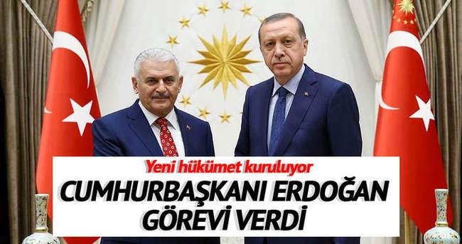 Ve Erdoğan hükümeti kurma görevini verdi