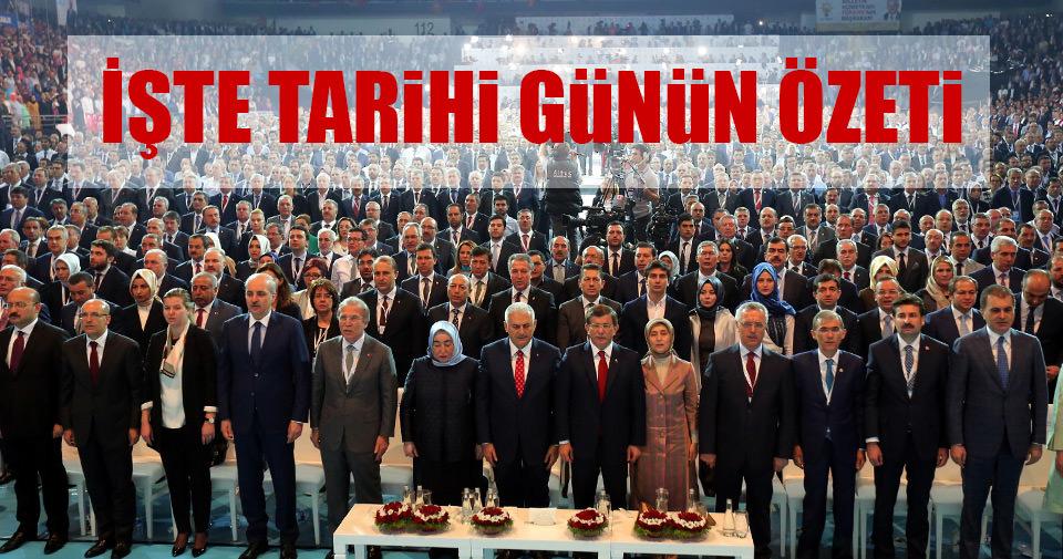 AK Parti'de Binali Yıldırım dönemi başladı