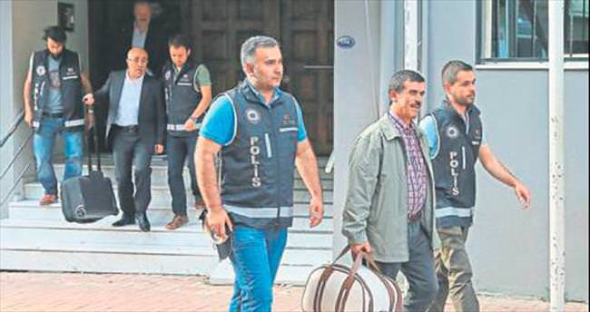 FETÖ'ye 5 tutuklama