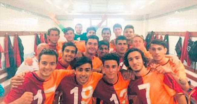 Coca Cola U19 Ligi'nde şampiyon Galatasaray