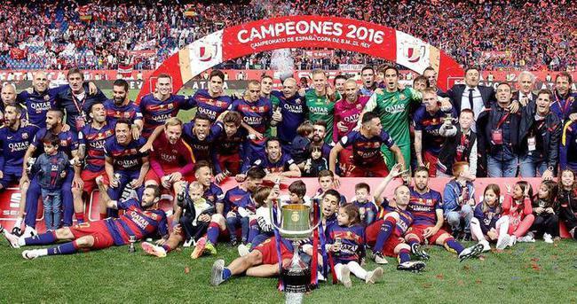 İspanya'da kral Barcelona