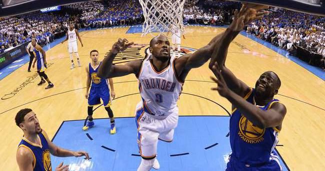 Thunder, Warriors'a şans tanımadı!
