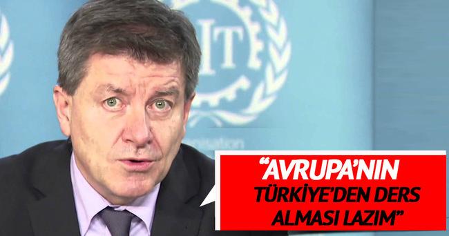 'Avrupa'nın Türkiye'den ders alması gerekir'