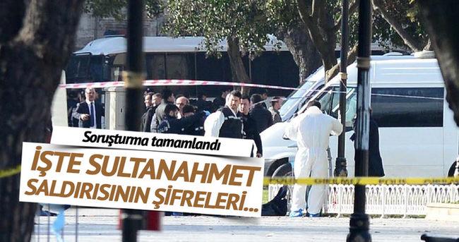 Sultanahmet'teki canlı bomba saldırısının şifreleri...