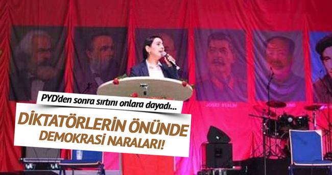 Figen Yüksekdağ sırtını diktatörlere dayıyor