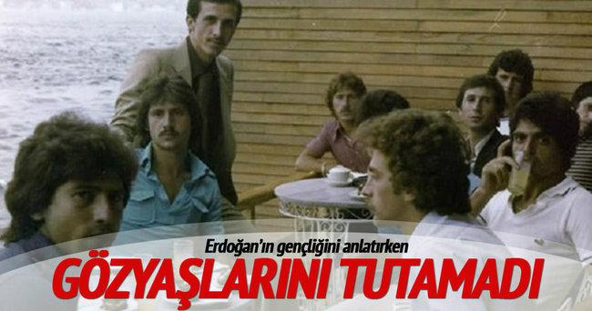 Cumhurbaşkanı Erdoğan ile anısını anlatırken ağladı