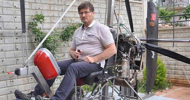 Mucit doktor kendi hava aracını yaptı
