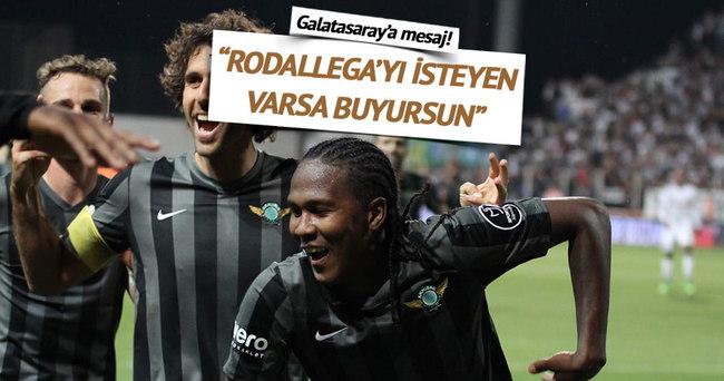 AKHİSAR'DAN GALATASARAY'A RODALLEGA CEVABI!