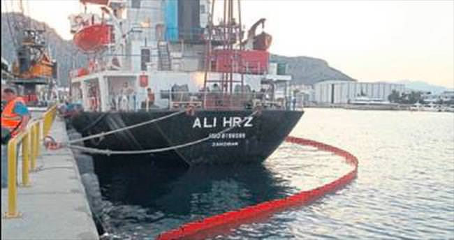 Denizi kirletene ceza yağdırıldı