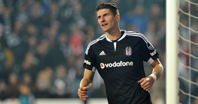Mario Gomez, Beşiktaş'a cevabını verdi!