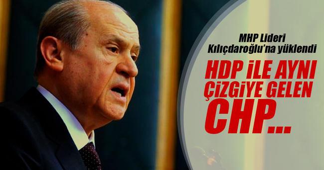 Devlet Bahçeli: CHP ve HDP'nin dokunulmazlık konusunda aynı çizgide durması vahim bir durumdur