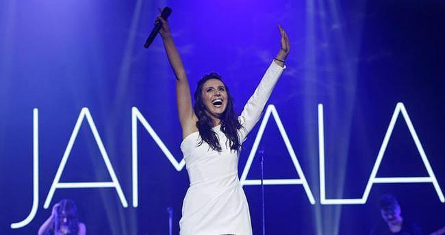 Jamala Kiev'de konser verdi