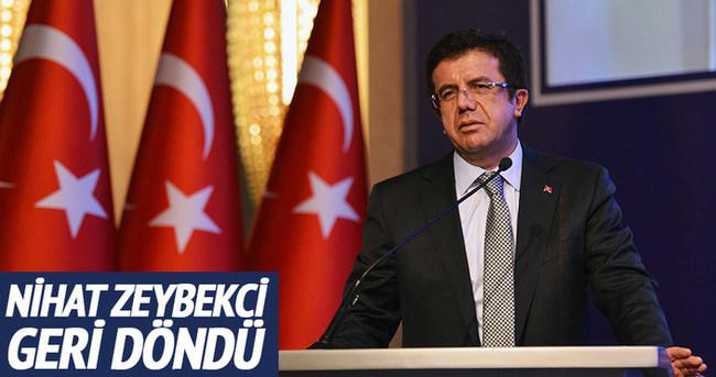 Nihat Zeybekci 4.kez Ekonomi Bakanı