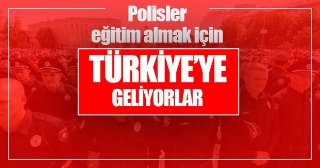 3 bin Ukrayna polisi Türkiye'ye geliyor