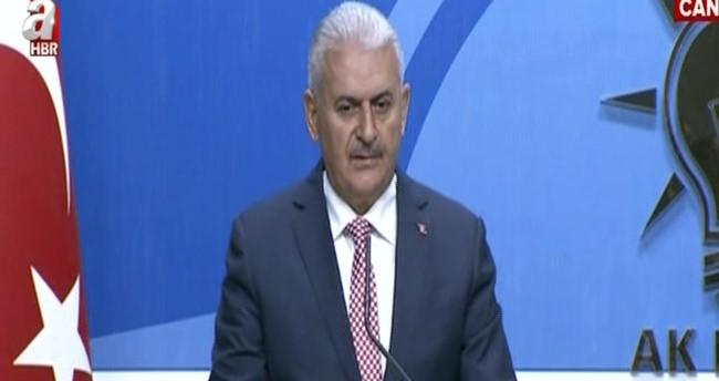 Başbakan Binali Yıldırım, Ak Parti MYK Listesi'ni açıkladı