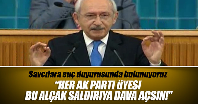 CHP'nin Erdoğan'a alçak saldırısına AK Parti'den tepki
