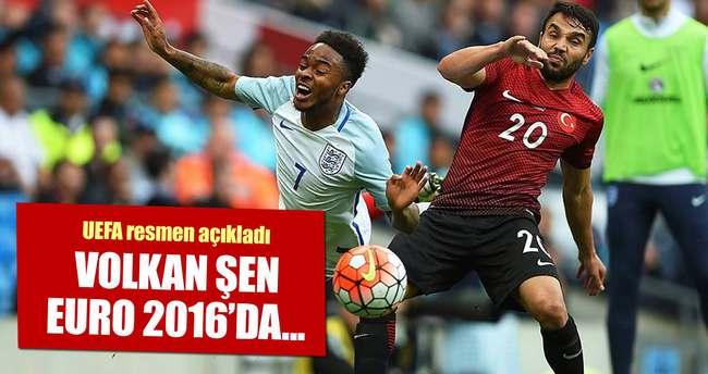 Volkan, EURO 2016'da oynayacak!