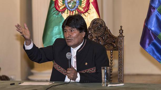 Bolivya'dan 'ABD ile mücadele için devrim' çağrısı!