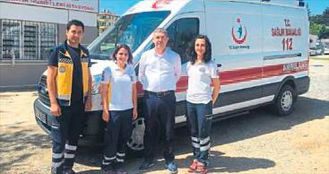 Manavgat'a 3 yeni ambulans verildi