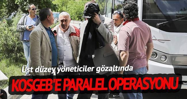 KOSGEB'e paralel operasyonu