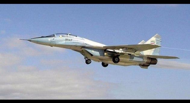 İran'da savaş uçağı pistten çıktı: 1 pilot öldü