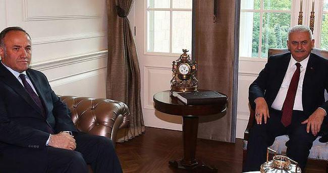 Başbakan Yıldırım, Çankaya'daki ilk kabulünü gerçekleştirdi