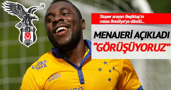 Menajeri Beşiktaş'ı açıkladı! Stoper...