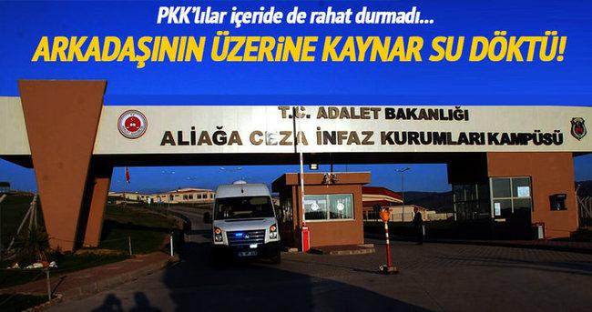 PKK'lıların kaldığı koğuşta kavga