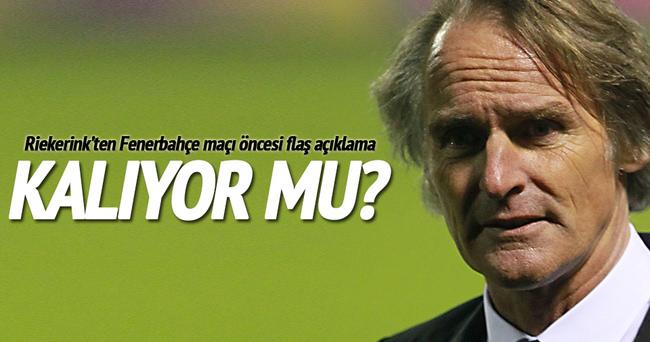 Riekerink Galatasaray'da kalıyor mu?