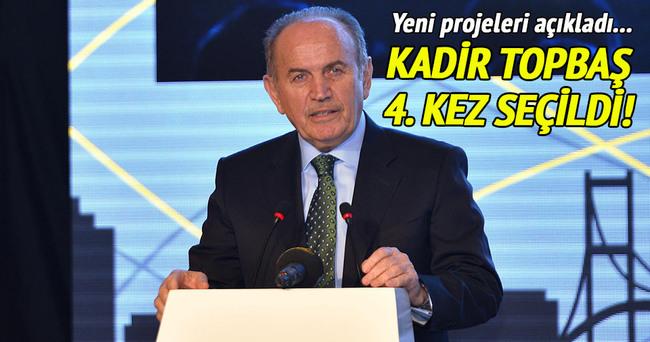 Kadir Topbaş yeniden TBB genel başkanlığına seçildi!