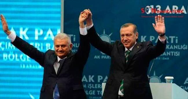Erdoğan ve Yıldırım pazartesi günü İzmir'de