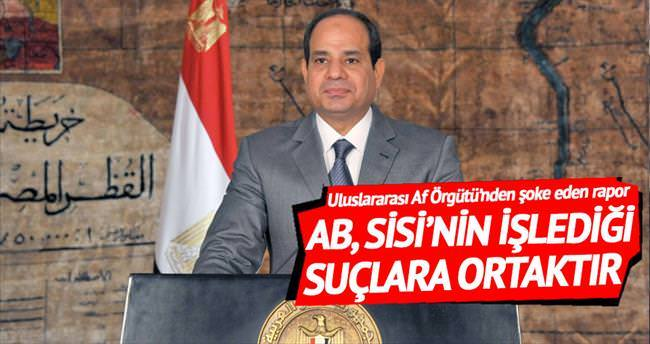 'AB, Sisi zulmünü silahla destekliyor'