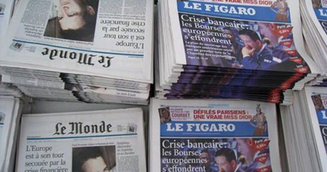 Fransa'da yarın gazeteler çıkmayacak
