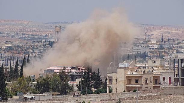 Halep'e hava saldırısı: 8 ölü, 17 yaralı!