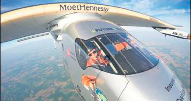 Güneş enerjili uçakta yeni rota: New York