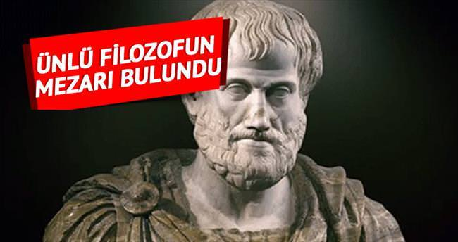 """""""Aristo'nun mezarı bulundu"""" iddiası"""