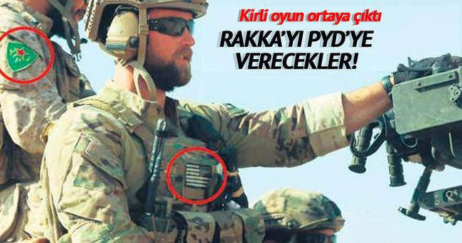 Skandal iddia! ABD'nin amacı Rakka'yı PYD'ye vermek!