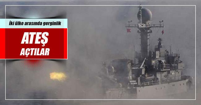 Güney Kore, Kuzey Kore gemilerine ateş açtı