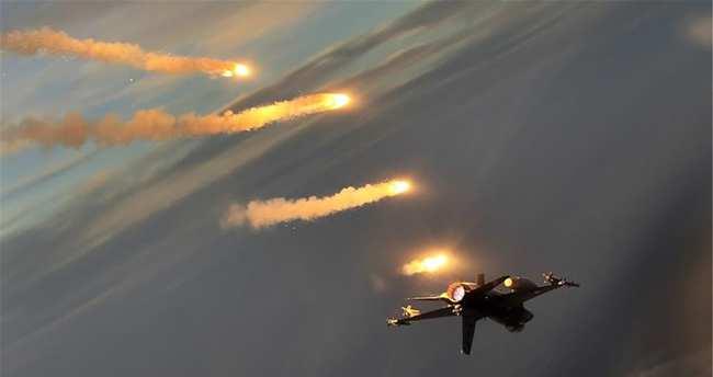 80 PKK'lı havadan vuruldu
