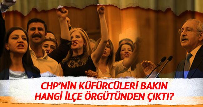 Küfürlü sloganı atanlar CHP Buca üyeleri çıktı