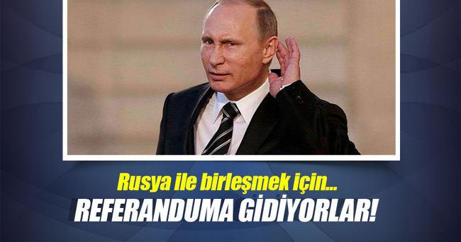 Güney Osetya Rusya ile birleşmek için referanduma gidiyor