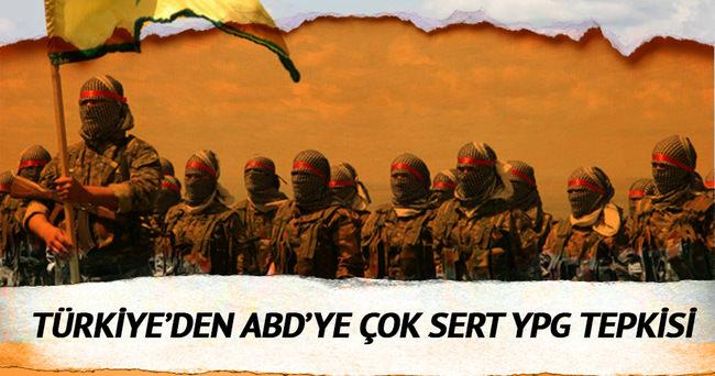 Türkiye'den ABD'ye çok sert 'YPG' tepkisi